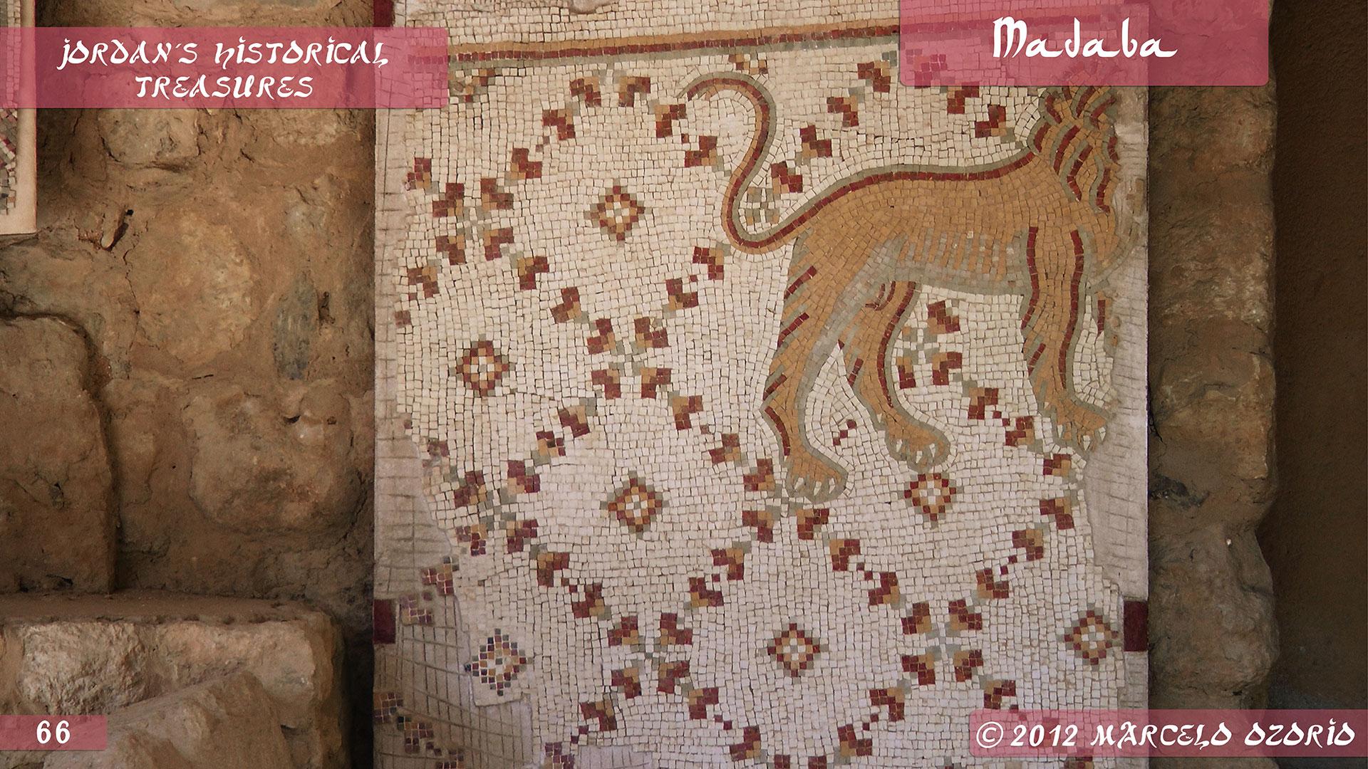 Madaba Mosaics Jordan 2 - Madaba, Mosaicos da Era Bíblica