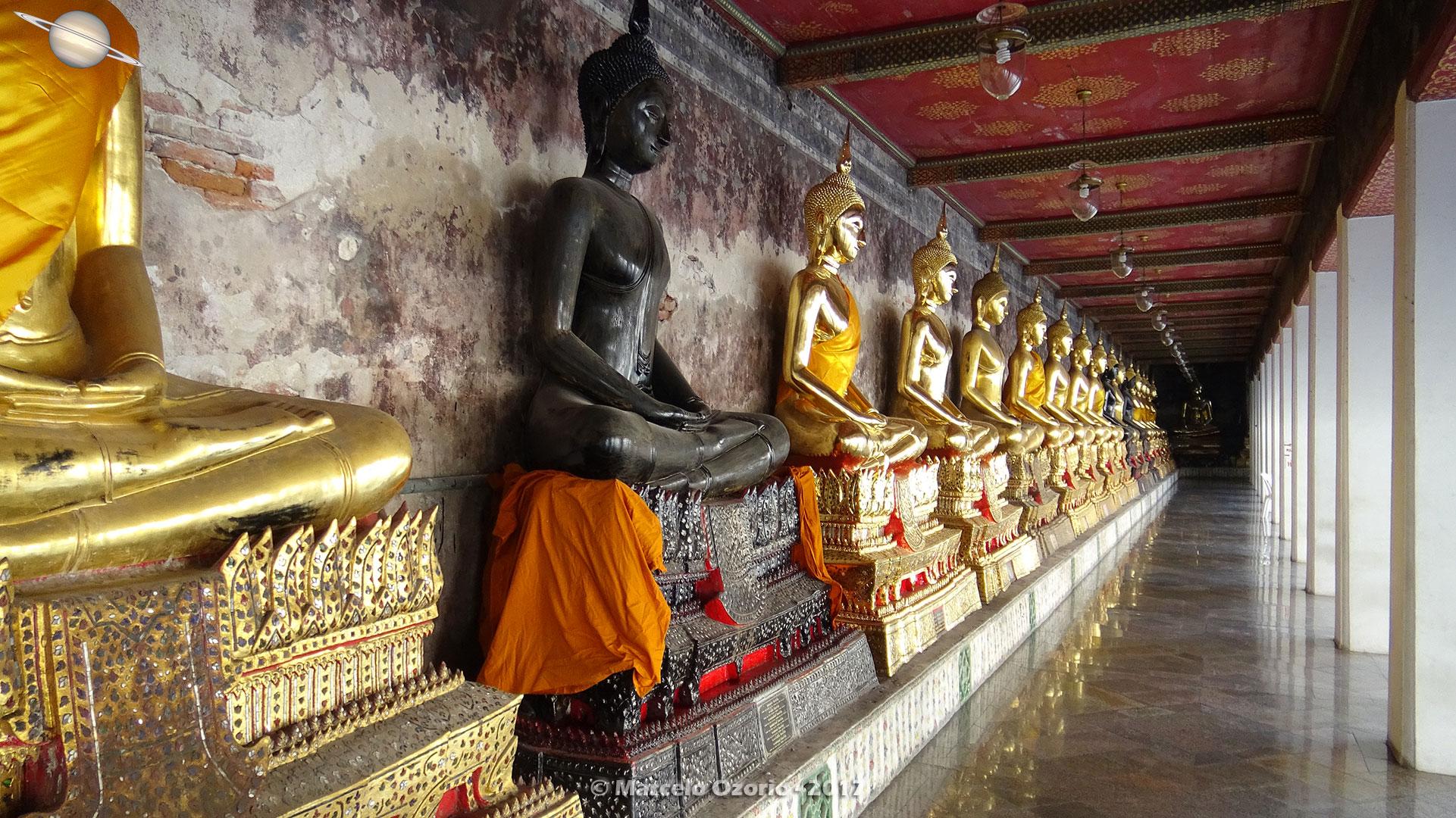 Templo Wat Suthat - Bangkok - Tailandia