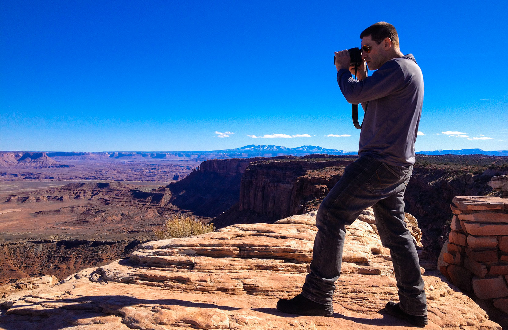 Marcelo Ozorio at Canyonlands National Park - Utah - USA