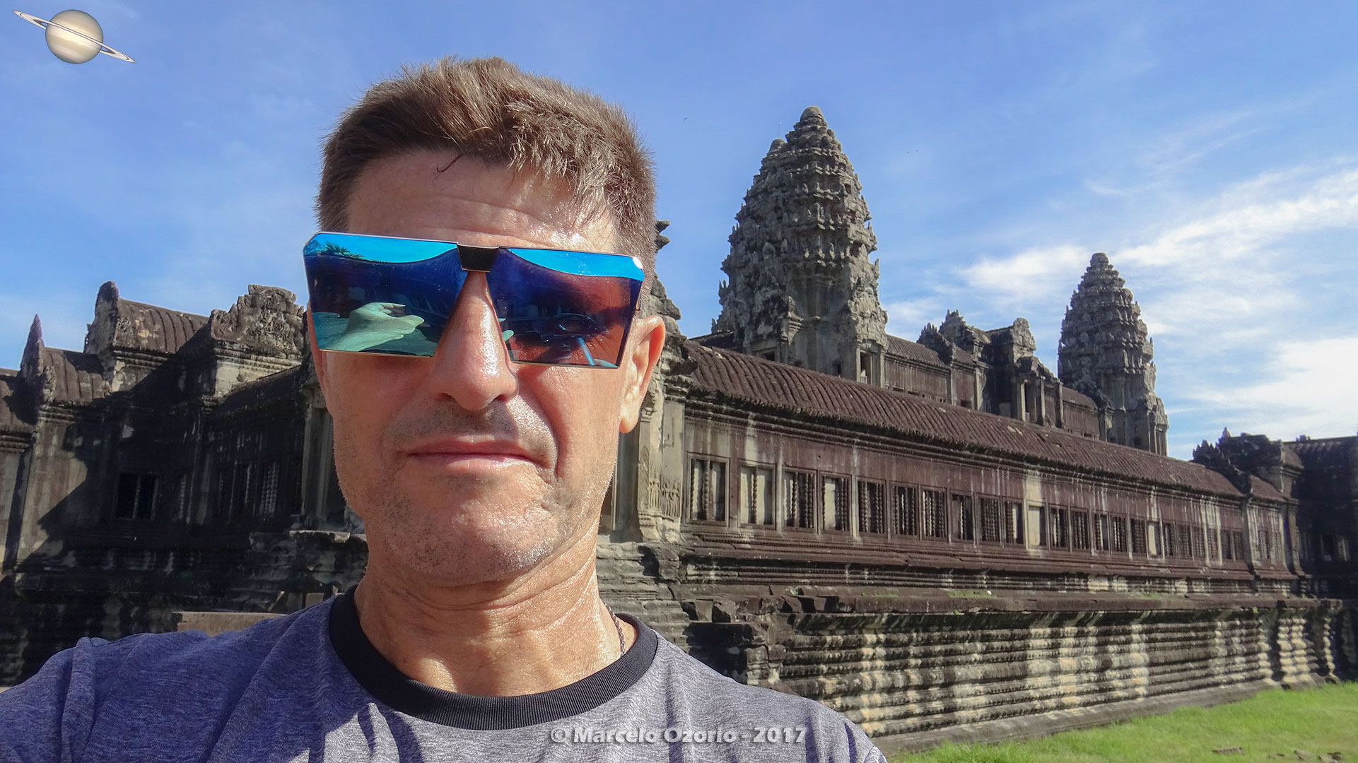 Marcelo Ozorio at Angkor Wat Temple - Siem Reap - Cambodia
