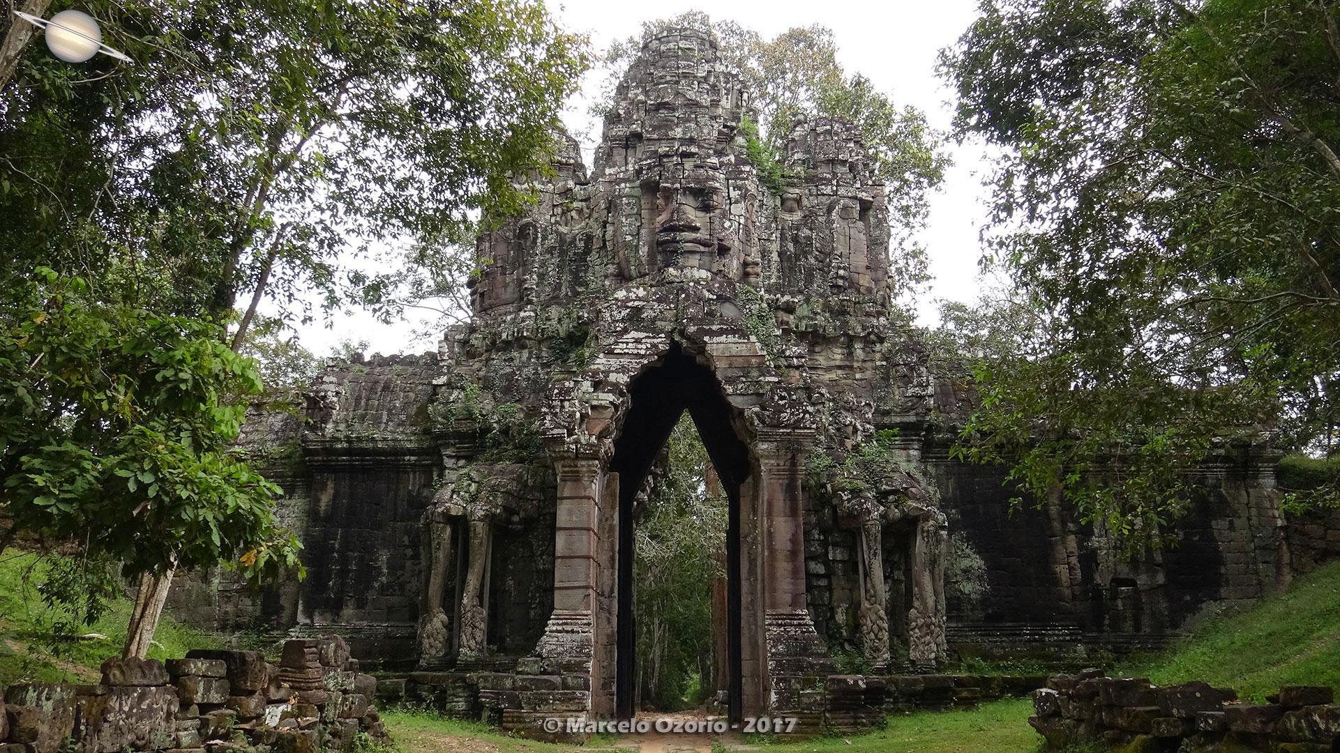 Portais de Angkor Thom - Siem Reap - Camboja