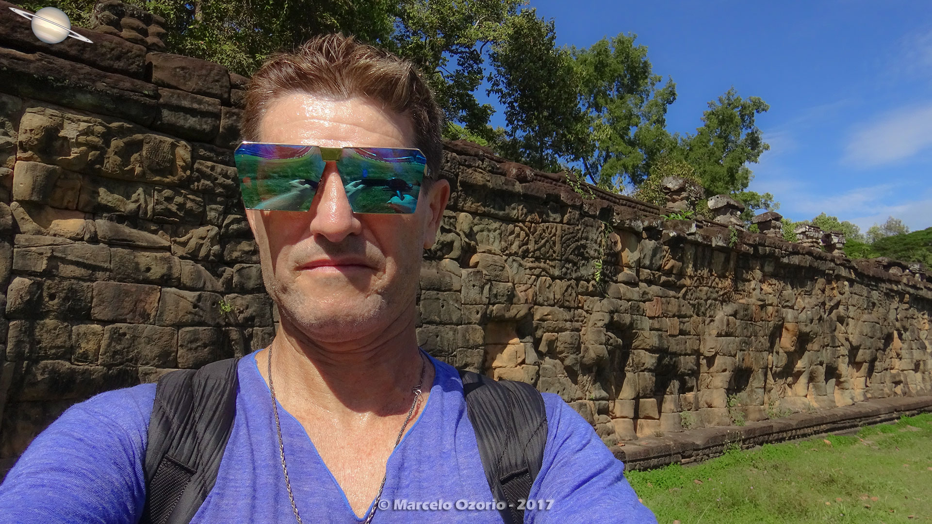Marcelo Ozorio at Terrace of Elephants - Siem Reap - Cambodia