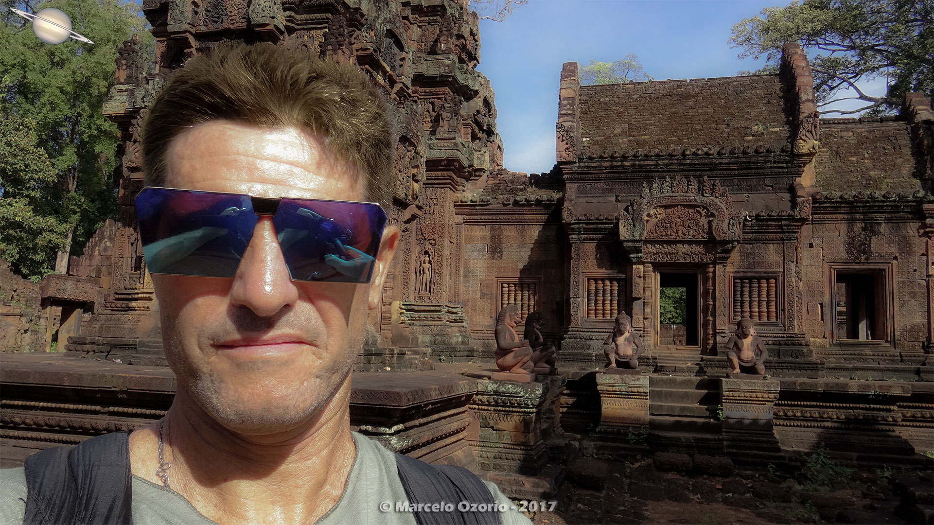 Marcelo Ozorio at Banteay Srei Temple - Siem Reap - Cambodia