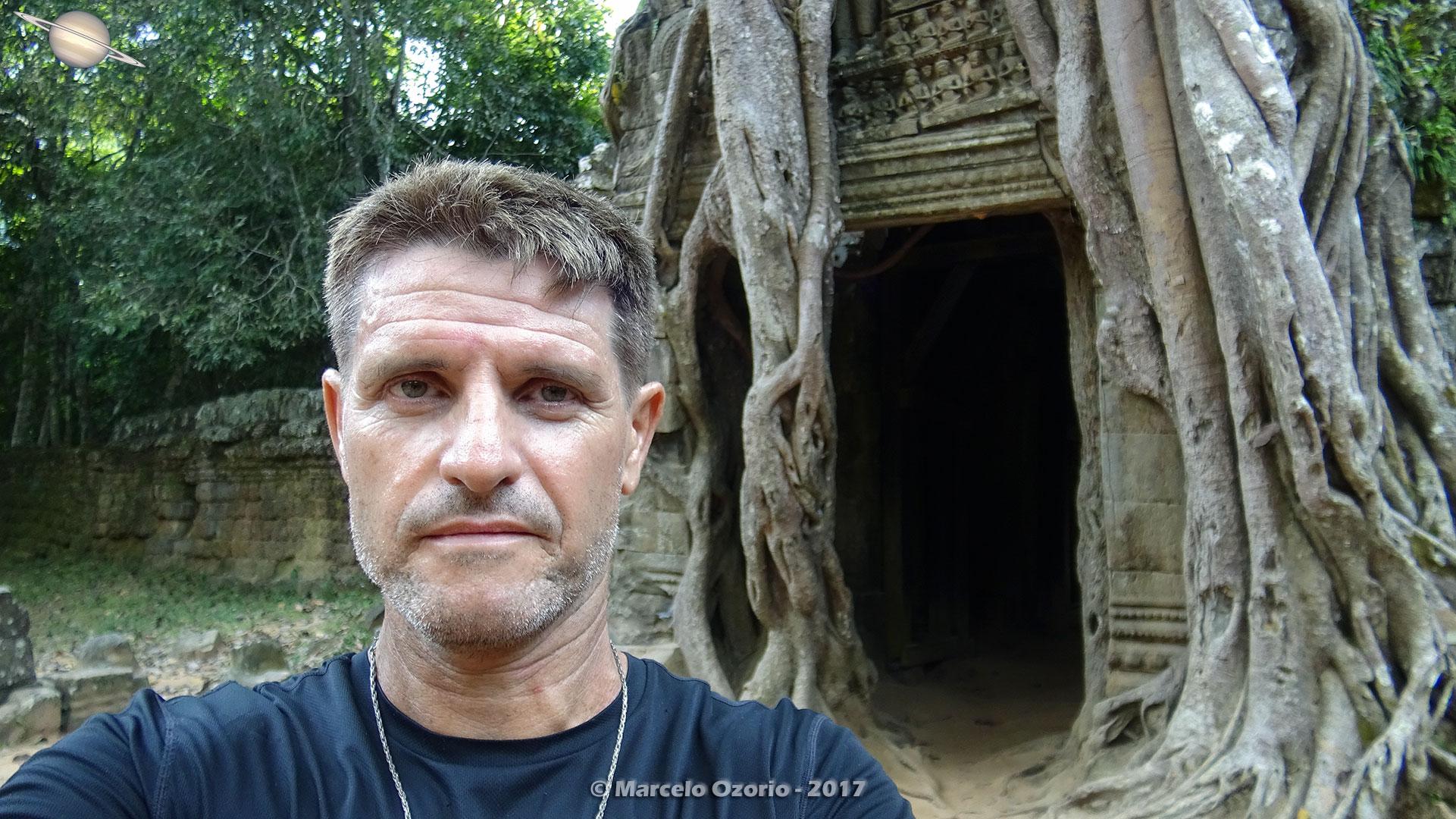 Marcelo Ozorio no Templo Ta Som - Siem Reap - Cambodia