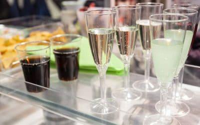 Bebidas no casamento, opções!