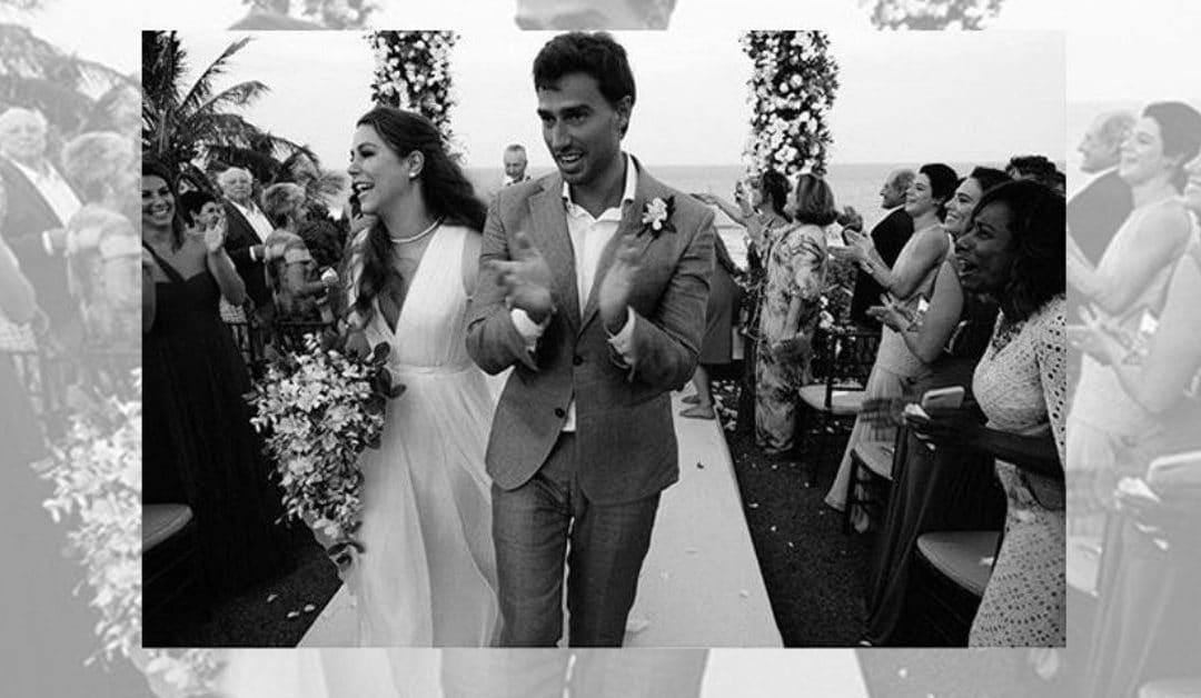 Casamento da filha de Narcisa Tamborindeguy