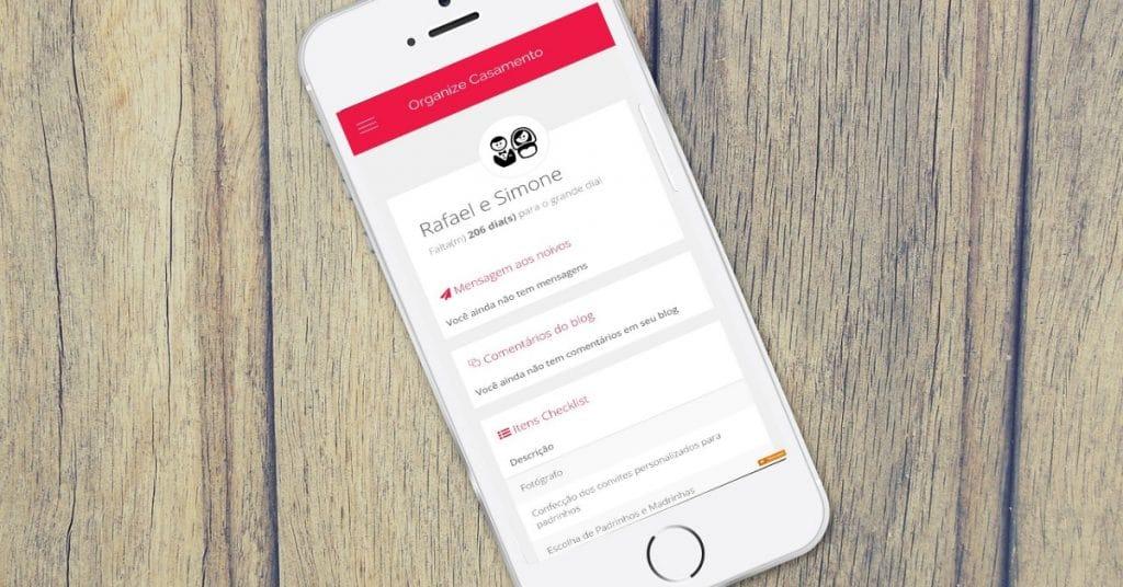 App Organize Casamento
