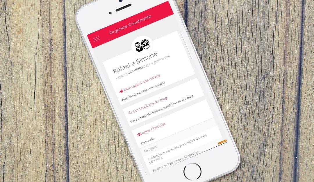 App Organize Casamento: aplicativo para casar!