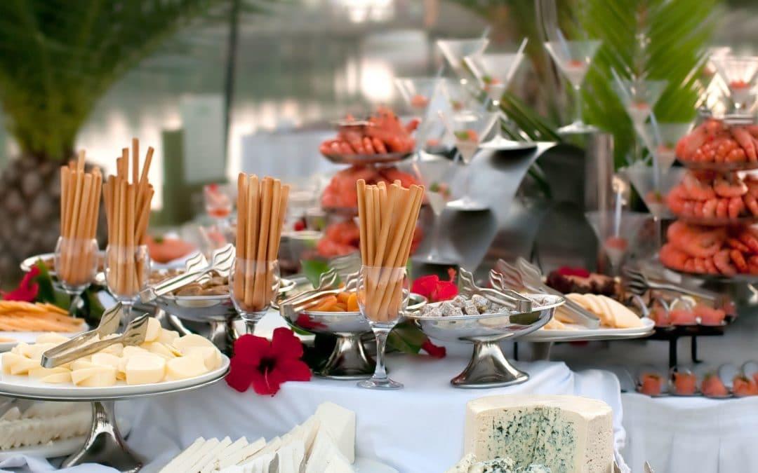 Catering para casamento: Dicas para organizar o seu