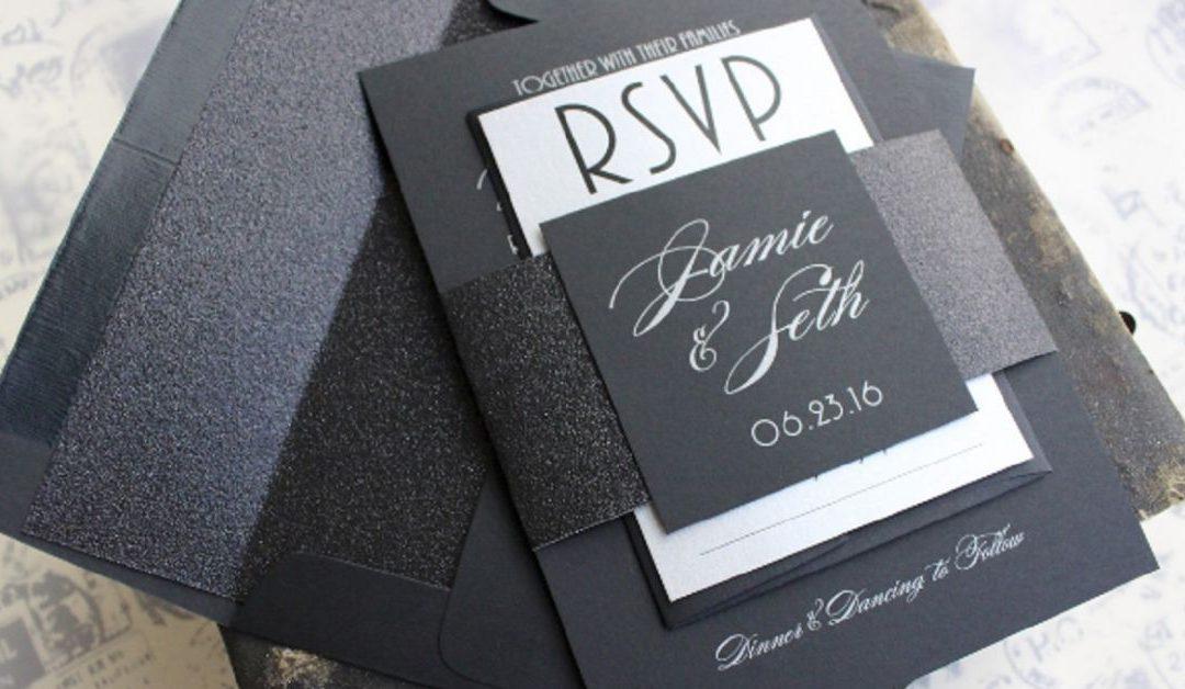 Como usar a cor preta na sua festa de casamento