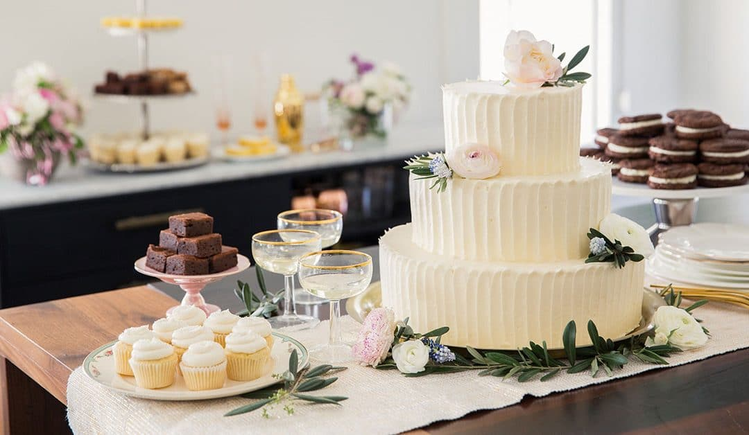 Tendências de bolo de casamento em 2018