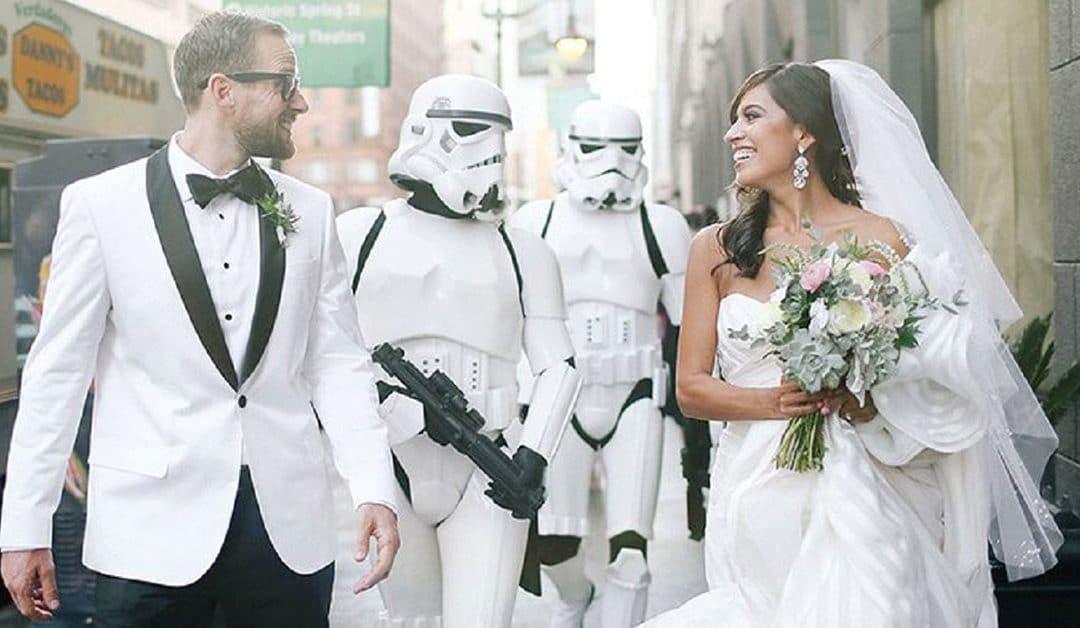 Inspirações para um Casamento Geek