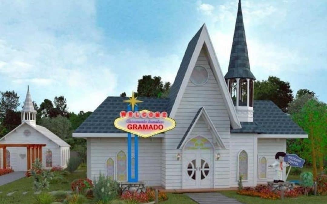 Capelas para casamento-relâmpago em Gramado (RS)