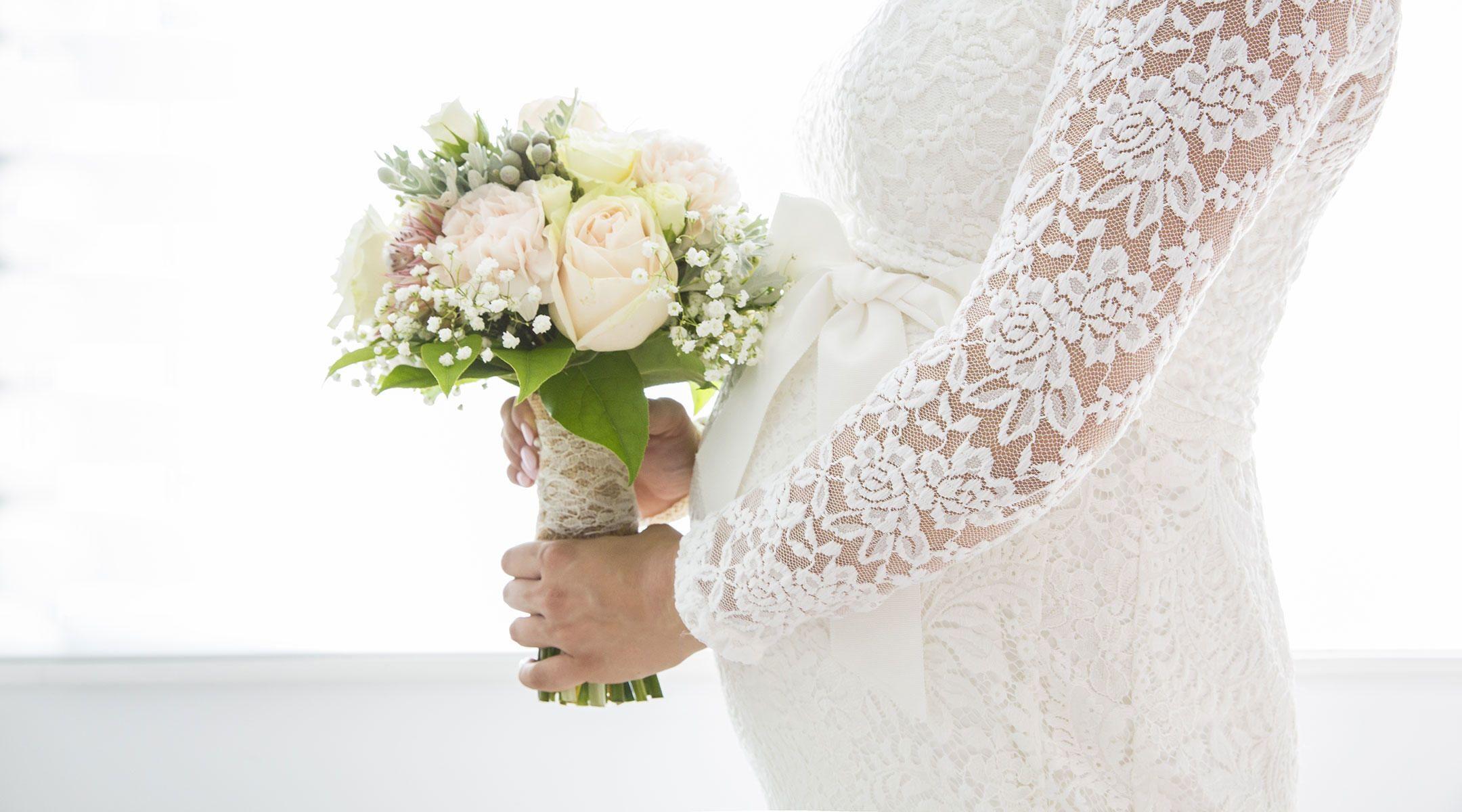 vestido de casamento rendado