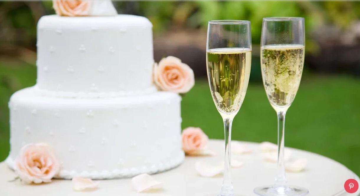 tradição do bolo de casamento