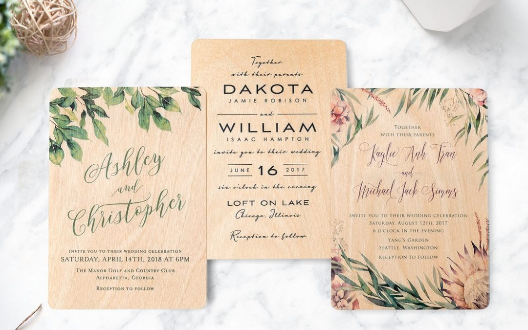 Convites de Casamento: ideias criativas e customizadas