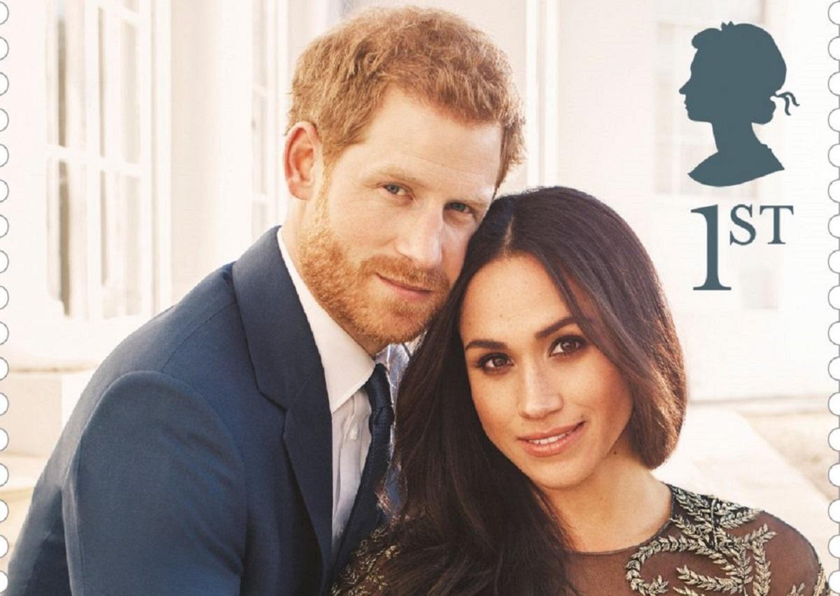 selos do casamento do príncipe Harry