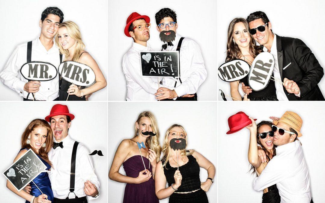 Cabine de fotos: faça fotos inesquecíveis no casamento!