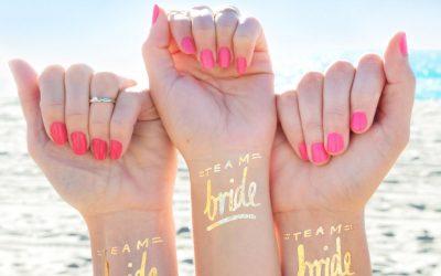 Tatuagem temporária para noivos é tendência!