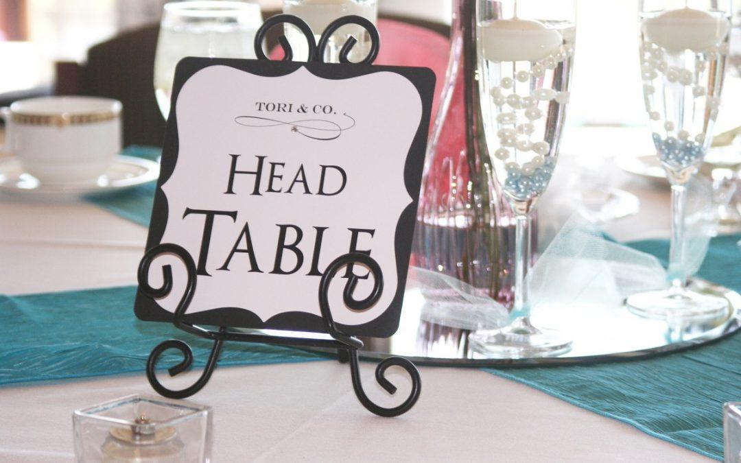 Ideias de marcadores de mesa para casamentos estilosos