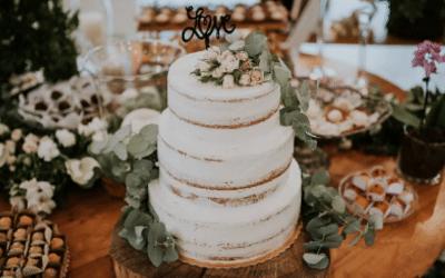 Bolo espatulado: tendência nos casamentos rústicos!