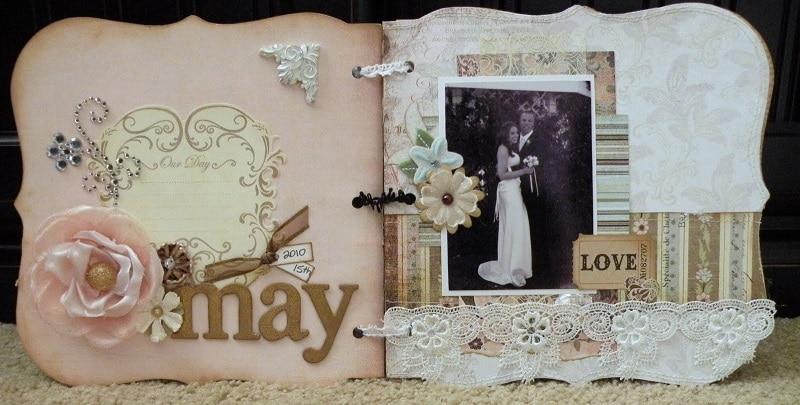 Scrapbook de casamento