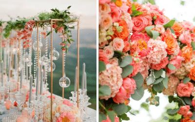 Como usar a cor coral no casamento e arrasar!