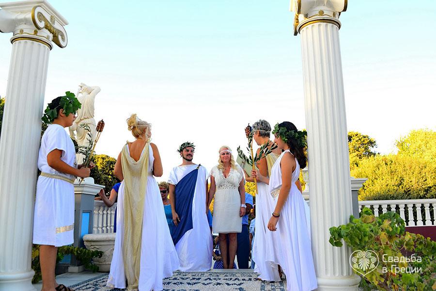 casamento temático grego