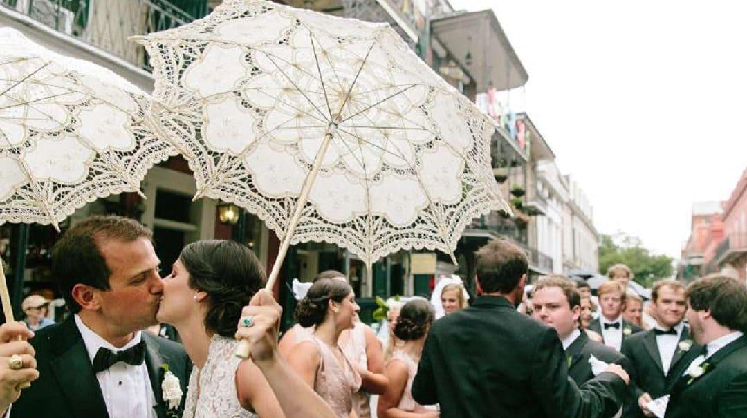 Como usar sombrinhas para casamento no seu grande dia
