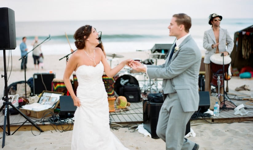 6 momentos inusitados em que a música no casamento é essencial