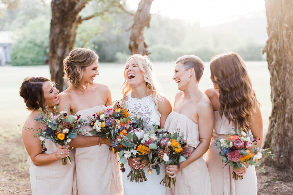 Paleta de cores para os vestidos de madrinhas de casamento