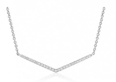 Colares e gargantilhas para noivas em diamantes