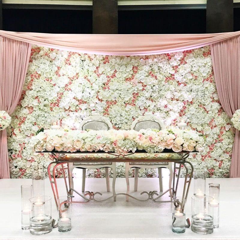 casamento personalizado mesa dos noivos