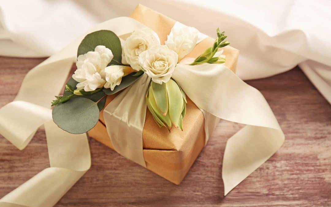 Opções de lojas para lista de presentes de casamento