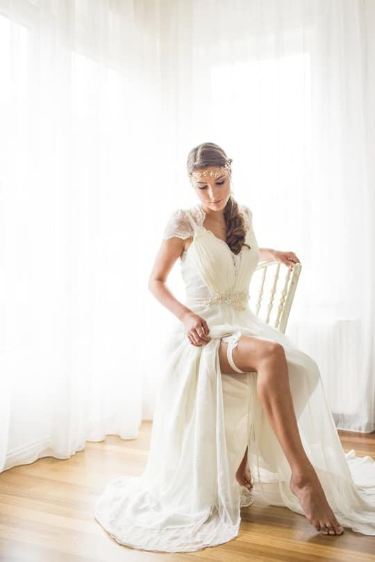 liga para noiva lingerie