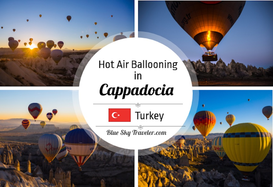 Hot Air Ballooning in Cappadocia Turkey: It's not only the experience of floating above other-worldly landscapes, but the magical experience of being in the midst of dozens of other balloons greeting the morning light with you. See more at http://s3-us-west-2.amazonaws.com/blueskytraveler/wp-content/uploads/2017/11/22160559/BlueSkyTraveler.Cappadocia.HotAirBalloon.C.jpeg