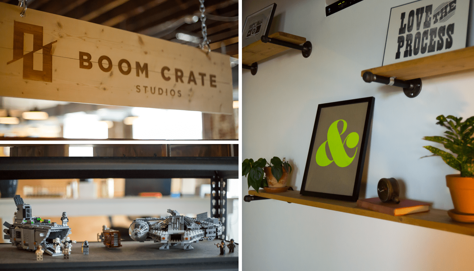 Boom Crate office