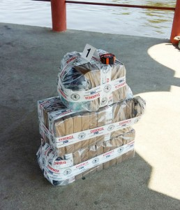 El valor de la droga decomisada asciende a más un millón de dólares, según las autoridades. / Cortesía Fiscalía
