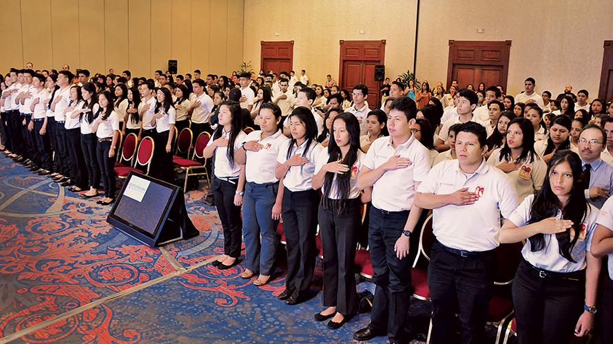 Los estudiantes beneficiados derivan de las cinco sedes Oportunidades a escala nacional: San Salvador, Santa Ana, Chalatenango, San Miguel y Ahuachapán, este último cuenta con el apoyo de Fundación JBorja.