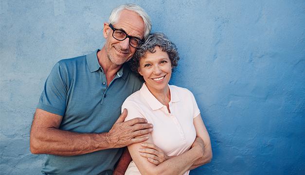 matrimonio feliz ancianos tercera edad