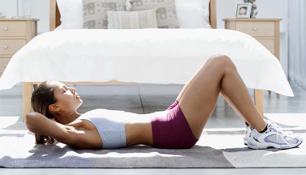 vientre palno ejercicio fitness
