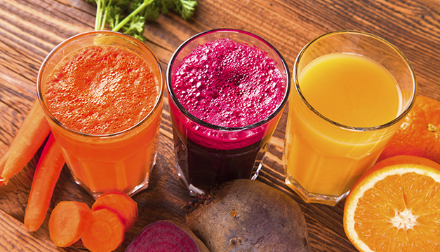 jugos naturales frutas verduras