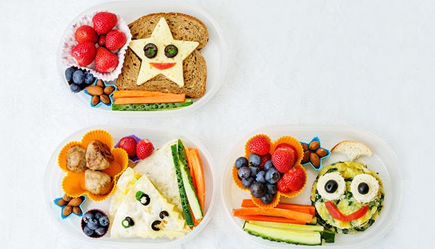 lonchera ninos nutricion comida