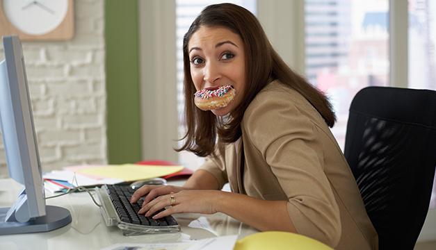 trabajo engordar ansiedad mujer