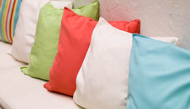 cojines almohadas