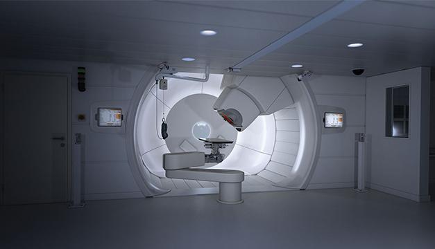 Ciclotron cancer terapia de protones