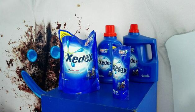 Xedex nueva presentacion liquida y nueva formula polvo detergente