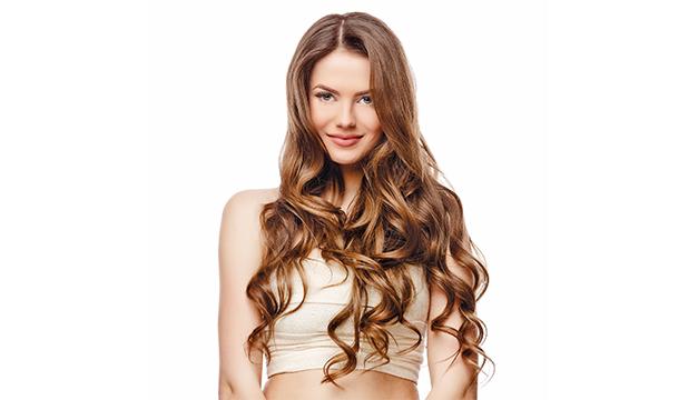 extensiones cabello largo crecimiento de pelo ondulado ondas