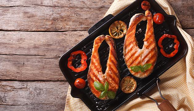 pescado dieta asado nutricion