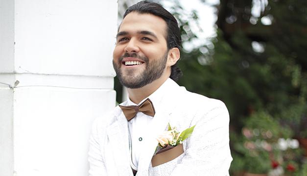 novio cuidado facial hombres Carlos Mata